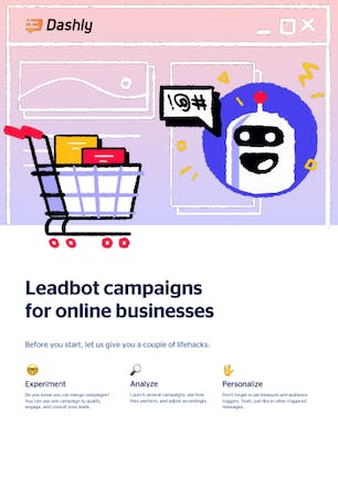 Leadbot campaigns for online businesses