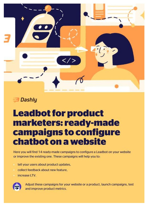 Leadbot playbook for product marketers