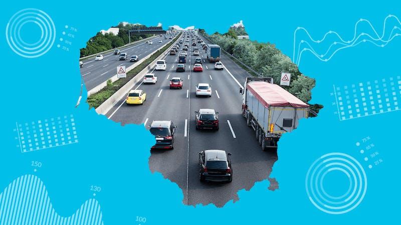 Naudoti automobiliai Lietuvoje: kas trečias daužtas, rida klastojama dešimtimis tūkstančių kilometrų