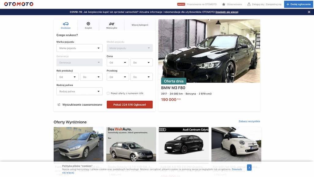 Gdzie wystawić samochód, aby go dobrze sprzedać?