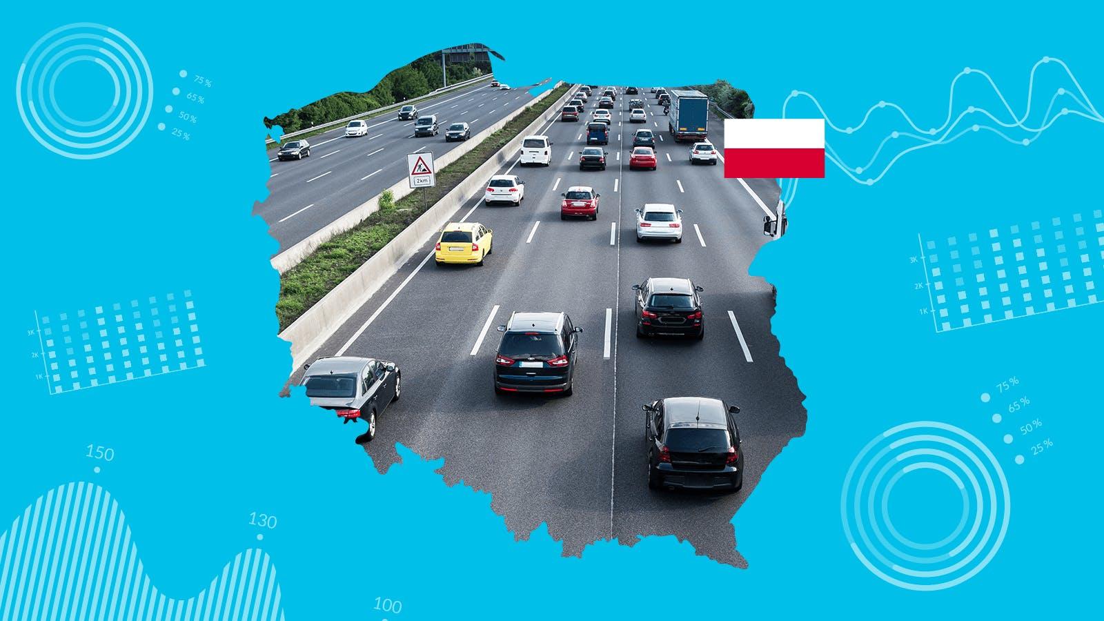 Samochody używane w Polsce: więcej niż jedna trzecia zostało uszkodzonych, a przebieg wielu został sfałszowany o dziesiątki tysięcy kilometrów