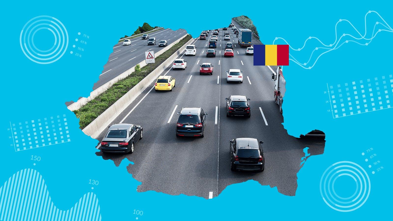 Mașini uzate în România: 1 din 4 a fost avariată, kilometrajul este falsificat cu zeci de mii de kilometri