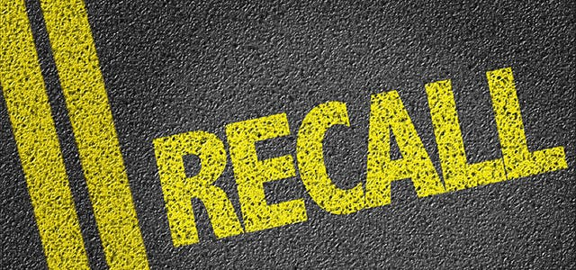 Every Vehicle Recall in 2017