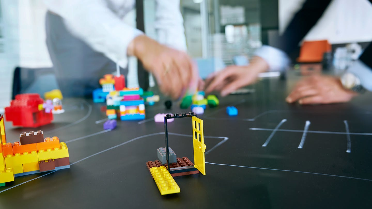 Workshop-Methode Lego