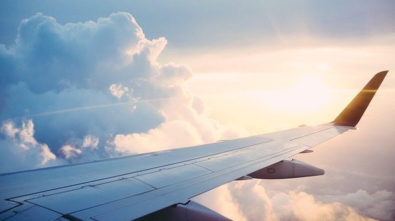 Flugzeug CO²-Ausstoß