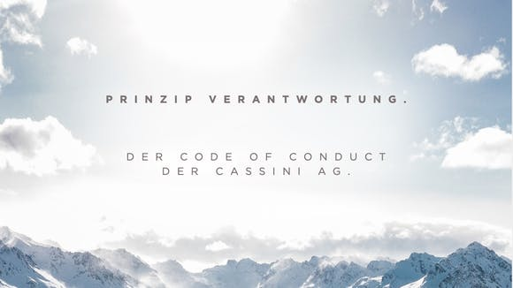 Code of Conduct Cassini AG