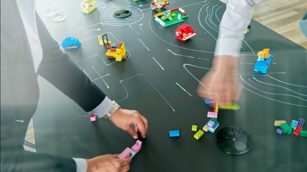 Workshops mit LEGO