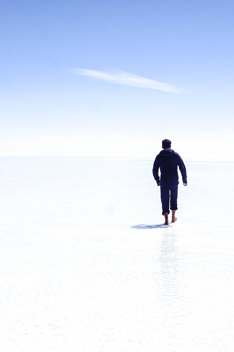 Salzsee, Bolivien