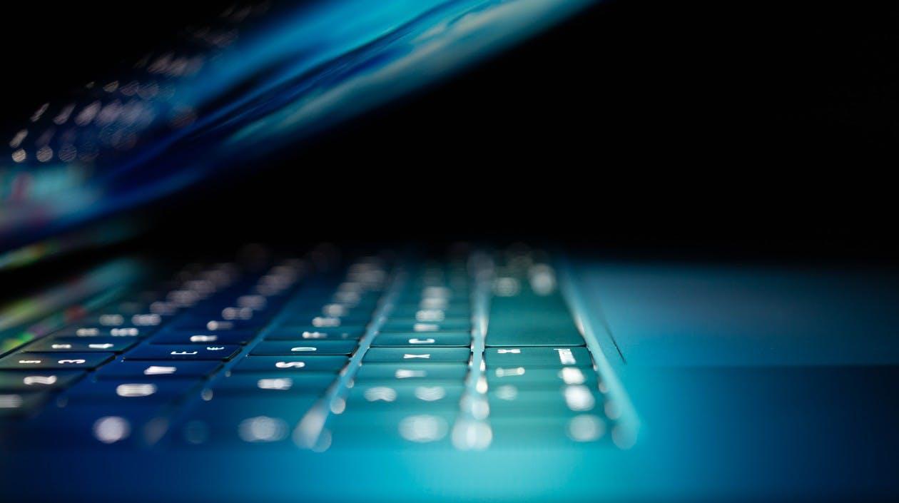 Tastatur eines Laptops