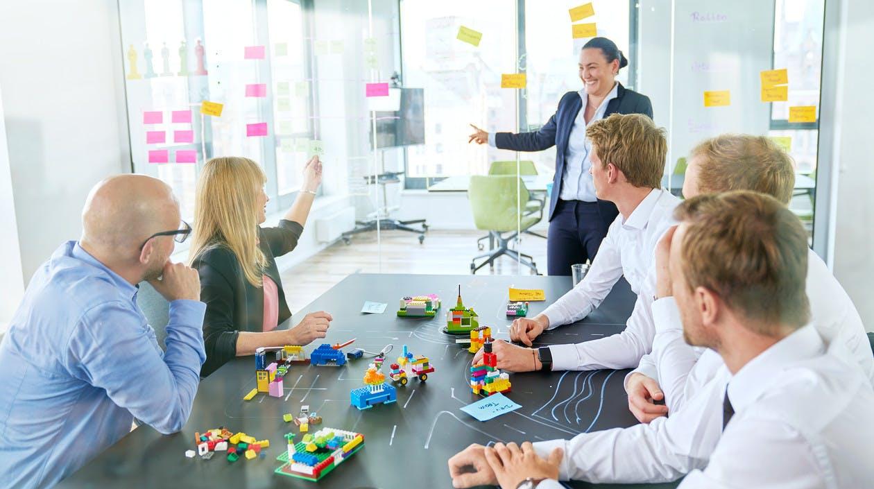 Cassini Berater in einer Workshop-Situation