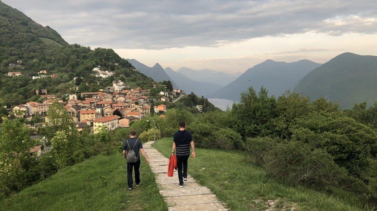 Wandern in Lugano