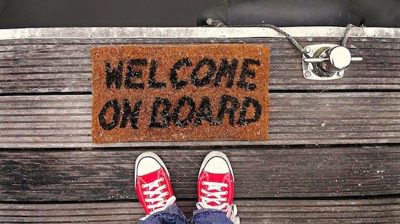 Willkommen an Bord