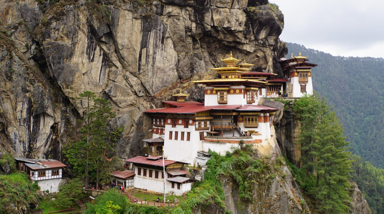 Tigernest Tempel, Bhutan