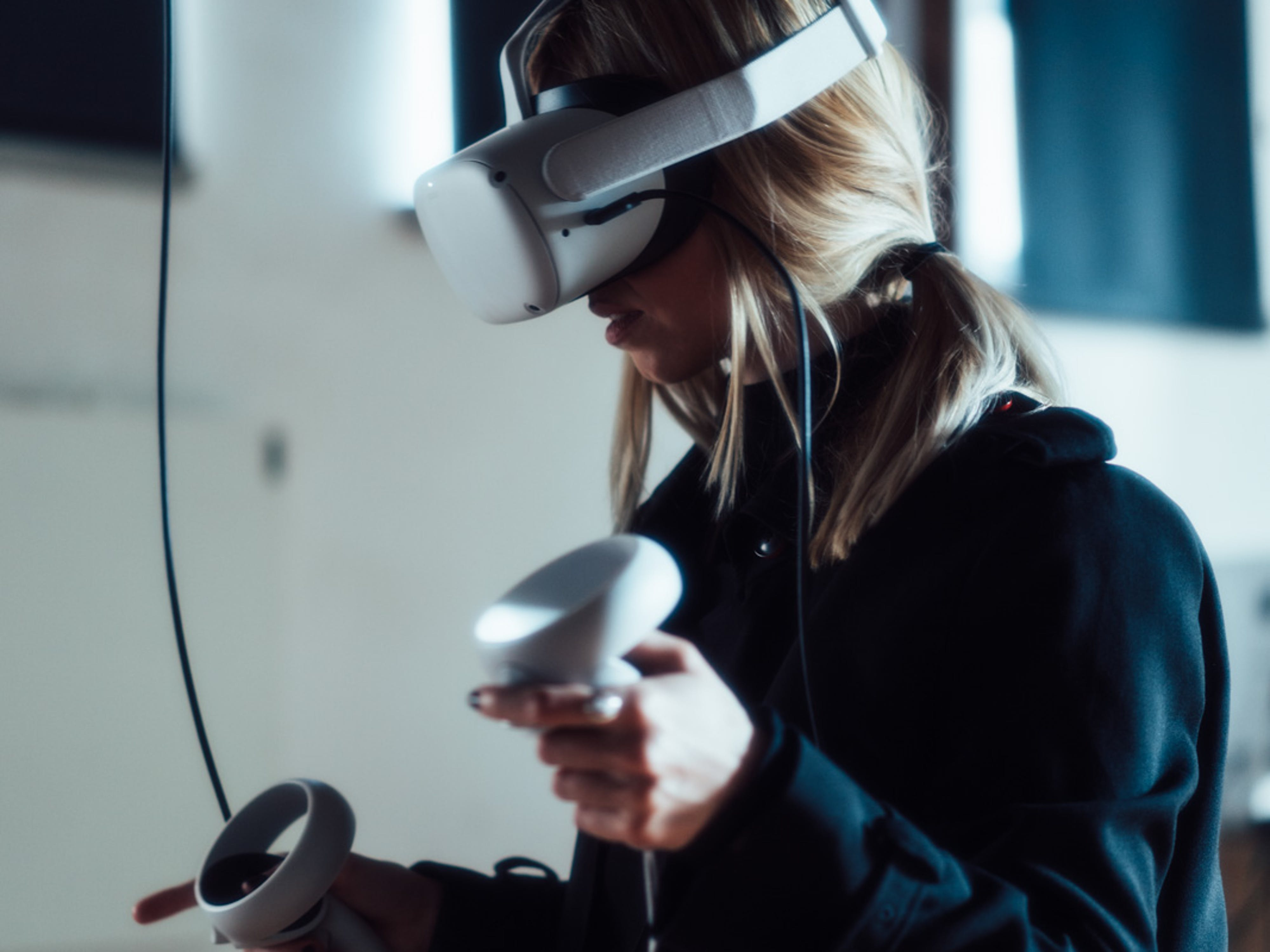 VFX workshops with virtual reality