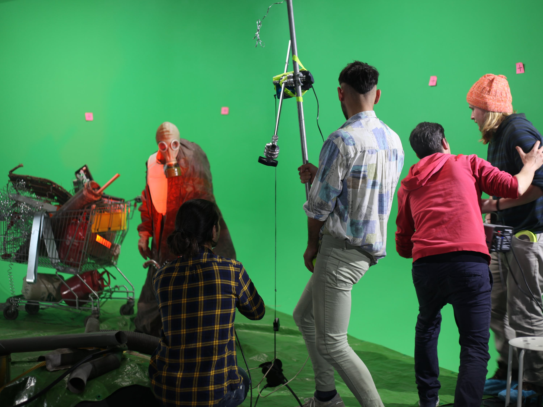 Visual Effects - Green Screen Room - VFX