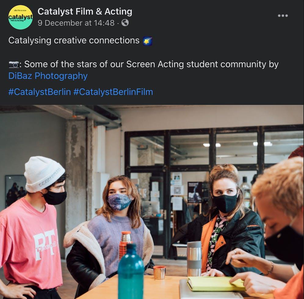 https://www.facebook.com/CatalystFilmActing Catalyst Film and Acting Facebook