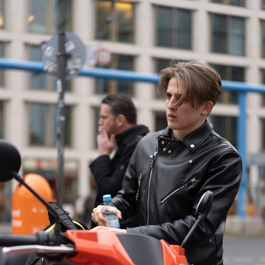 Catalyst Berlin Screen Acting alumnus  and Netflix Curon actor Giulio Brizzi by Dico Baskoro
