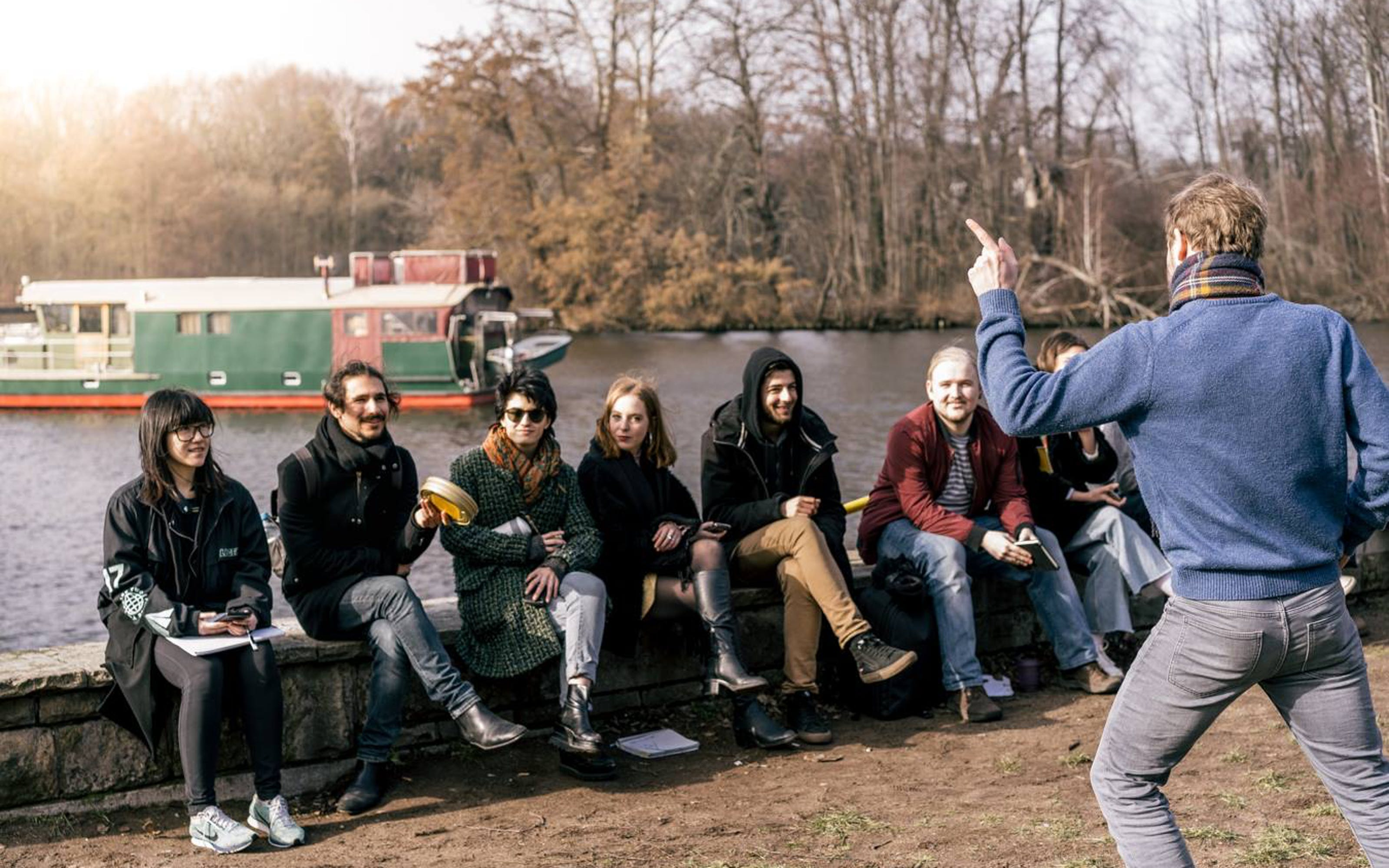 Malachi Rempen and his Film Production students | Catalyst Berlin