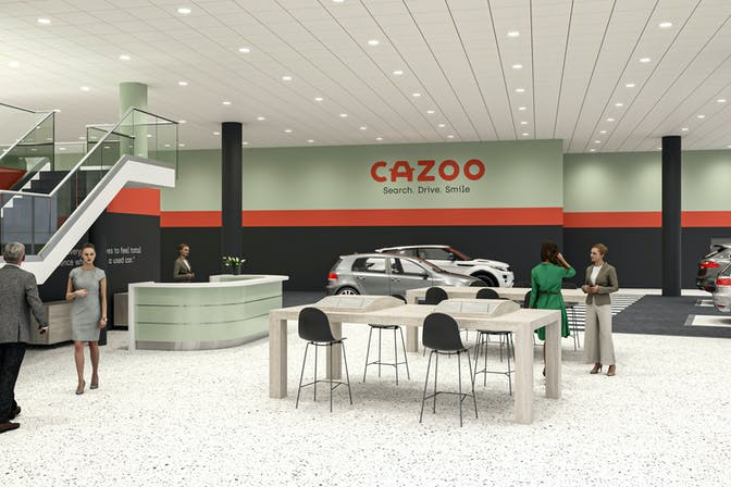 The Cazoo Customer Centre in Exeter