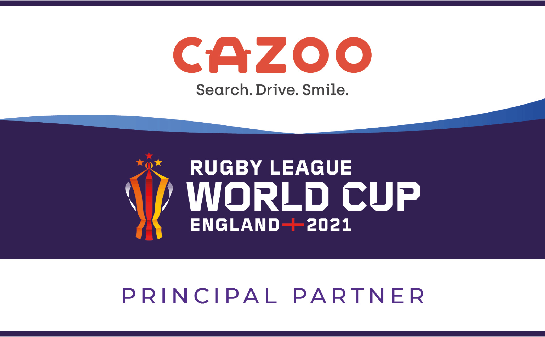 Cazoo Rugby League World Cup Sponsorship