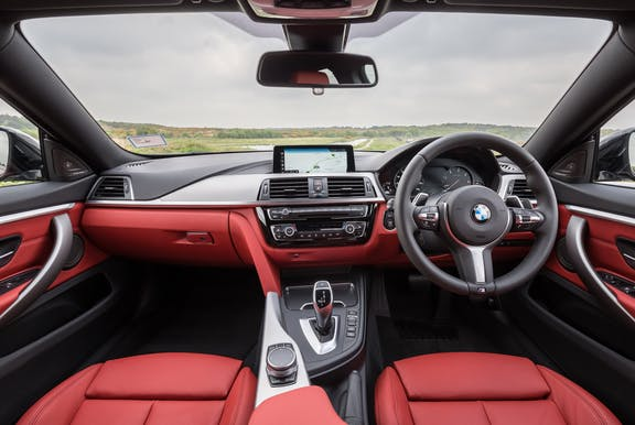 Interior of the BMW 4 Series Gran Coupe