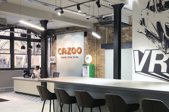 Cazoo reception
