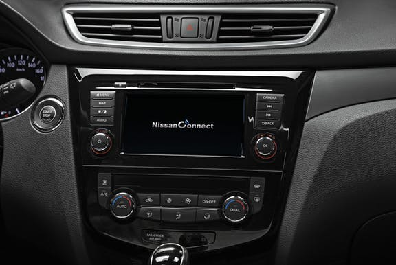 Display shot of the Nissan Qashqai