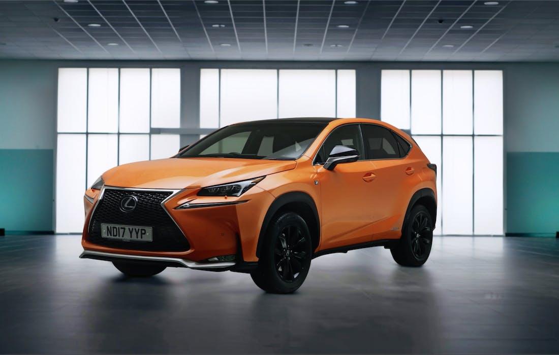 Orange Lexus