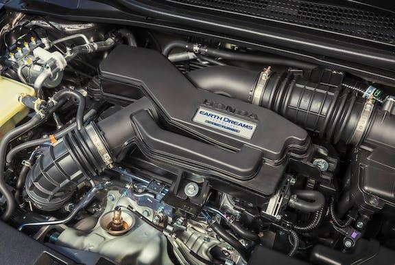 Engine of a Honda HR-V