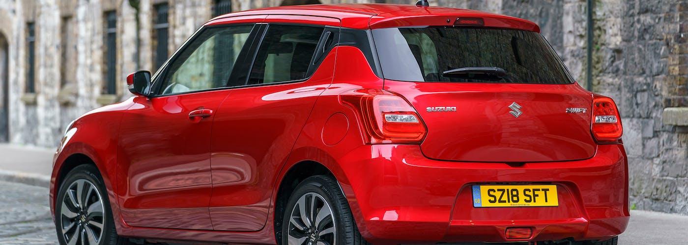 Suzuki Swift rear exterior