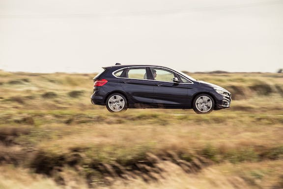 BMW 2 Series Active Tourer side view