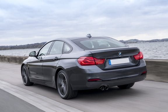 Rear exterior of the BMW 4 Series Gran Coupe