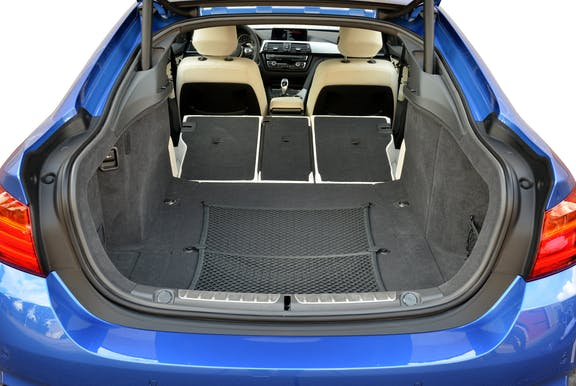 Boot of the BMW 4 Series Gran Coupe