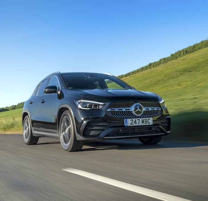 Mercedes-Benz GLA driving
