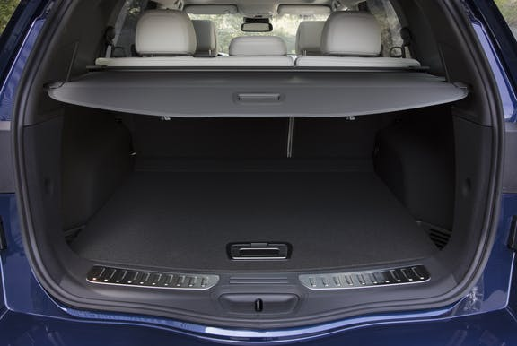 Boot space shot of the Renault Koleos