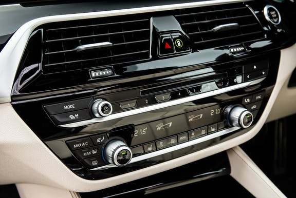 Control shot of the BMW 5 Series