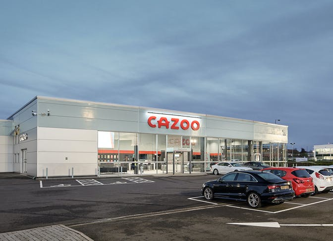 The exterior of the Cazoo Tamworth CCC