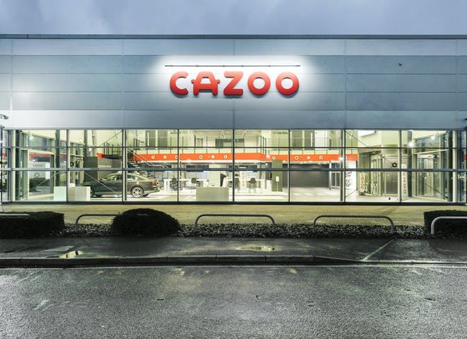 The exterior of the Cazoo Exeter CCC