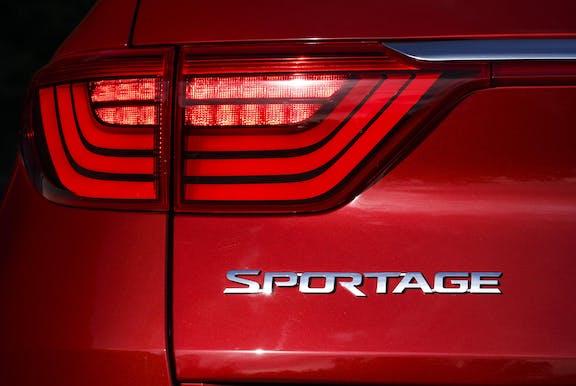 Kia Sportage Badge