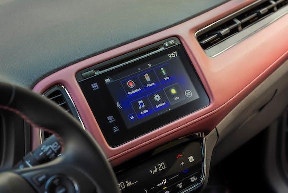 Infotainment system of a Honda HR-V