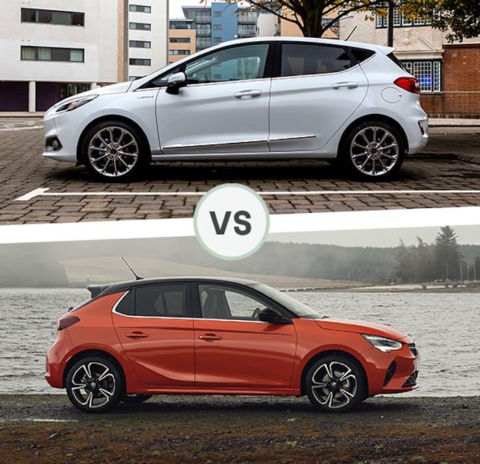 Ford Fiesta vs Vauxhall Corsa
