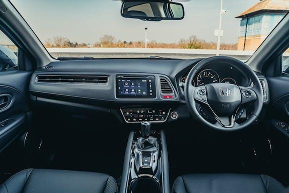 Interior of a Honda HR-V