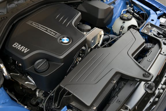 Engine of the BMW 4 Series Gran Coupe