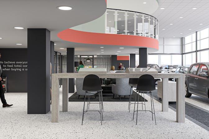 The Cazoo Customer Centre in Bristol