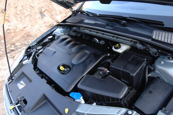 Engine shot of the Ford Mondeo