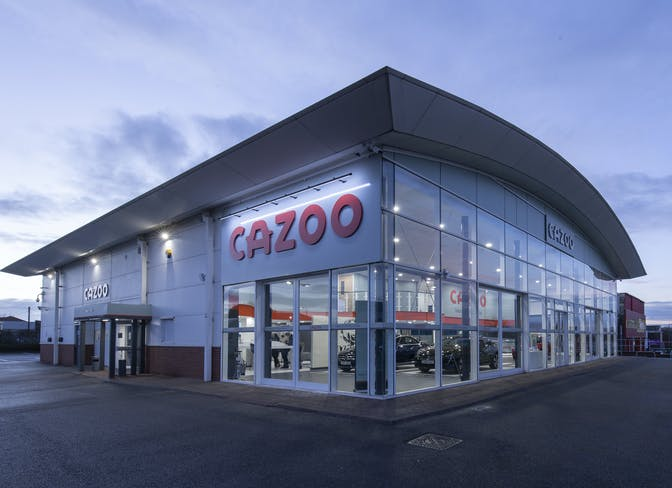 The exterior of the Cazoo Bristol CCC