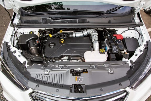 Engine shot of the Vauxhall Mokka X
