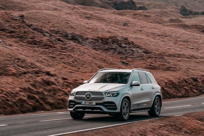 Mercedes-Benz GLE front exterior