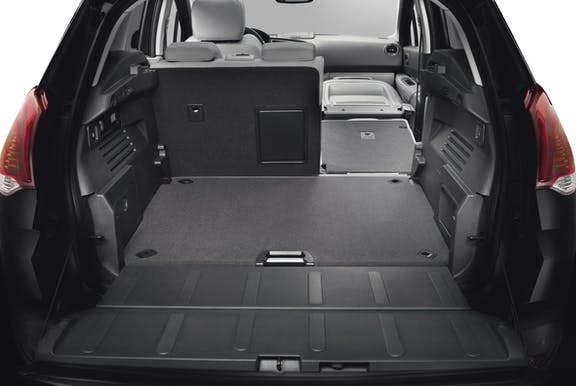 Boot space shot of the Peugeot 3008