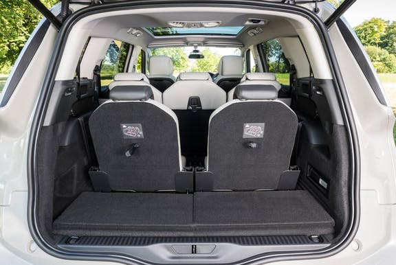 Boot space shot of the Citroen Grand C4 Picasso